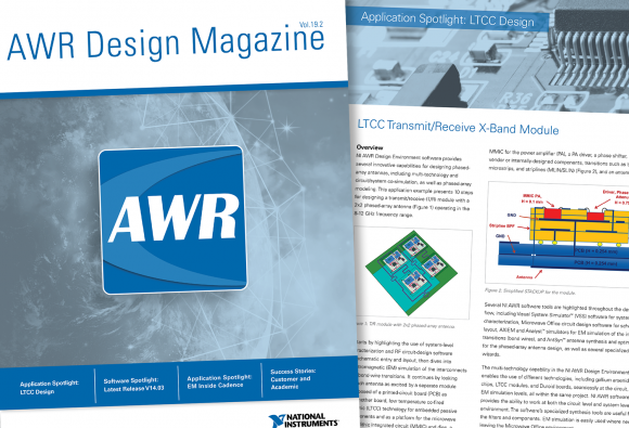NI AWR Software | NI AWR Design Environment